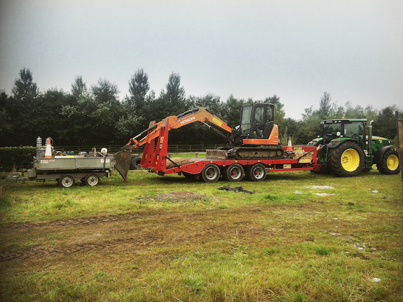 Plant Hire Wexford - Diggers, Dumpsters Tractors and Farming
